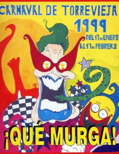 cartel carnaval de torrevieja 1999
