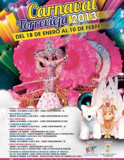 cartel carnaval de torrevieja 2013