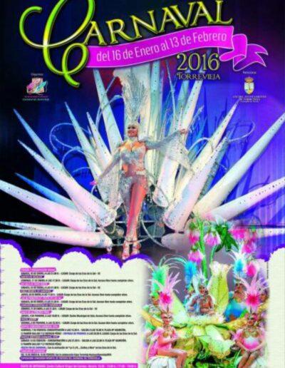 cartel carnaval de torrevieja 2016