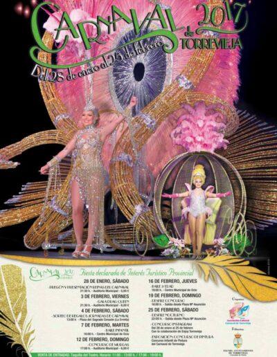 cartel carnaval de torrevieja 2017